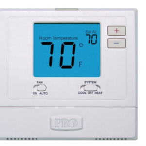 Pro1 T701 IAQ Single Stage 1 Heat 1 Cool Non-Programable Thermostat