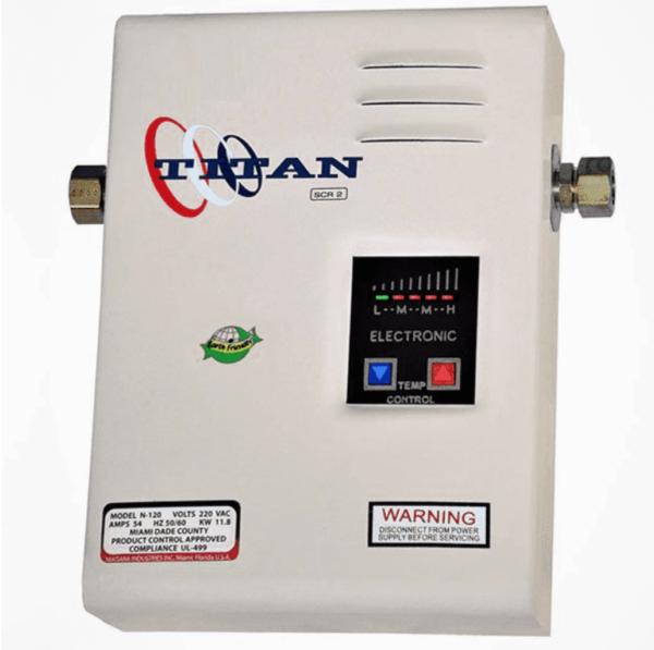 Titan N-120 Electronic Tankless Water Heater 11.8kw