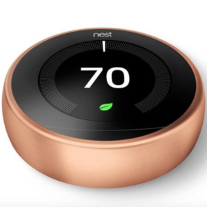 Nest Thermostat 3rd Generation Copper