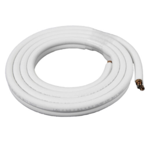 "ICool 1/4""LL x 3/8"" SL Mini Split Refrigerant Line Set w/ Flare  Nuts, 3/8"" Insulation (15 ft.)"