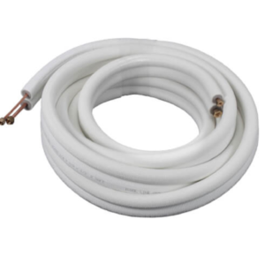 "ICool 1/4""LL x 3/8"" SL Mini Split Refrigerant Line Set w/ Flare  Nuts, 3/8"" Insulation (25 ft.)"