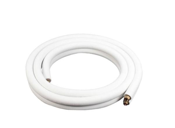 """ICool 3/8""""LL x 5/8"""" SL Mini Split Refrigerant Line Set w/ Flare  Nuts, 1/2"""" Insulation (15 ft.)"""