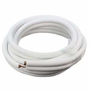 """ICool 3/8""""LL x 5/8"""" SL Mini Split Refrigerant Line Set w/ Flare  Nuts, 1/2"""" Insulation (25 ft.)"""