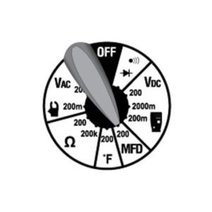 Fieldpiece HS33 Expandable Manuel Ranging Stick Multimeter for HVAC/R
