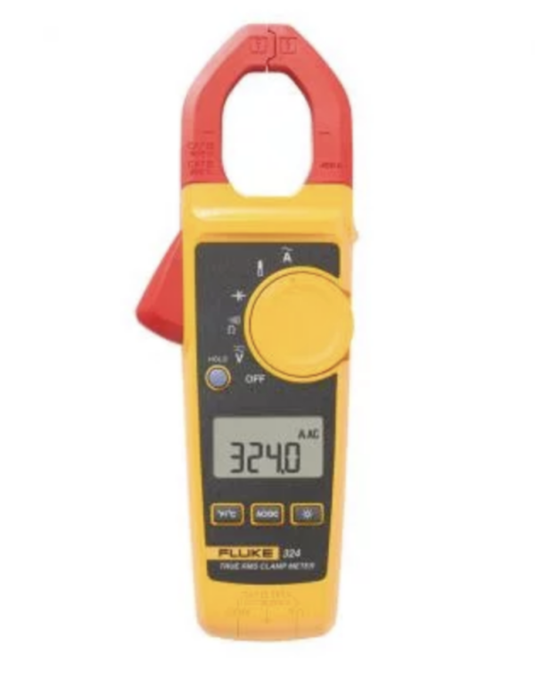 FLUKE 324 True RMS Clamp Meter with Capacitance and Temperature Measure