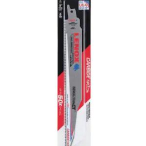 LENOX 1832143 9″ X 6 TPI Demolition Carbide Tip Reciprocating Blade 1 Pack