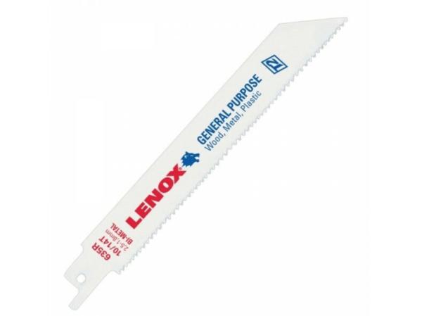 LENOX 20580810R 8″ X 10 TPI Bi-Metal Reciprocating Saw Blades  5 Pack