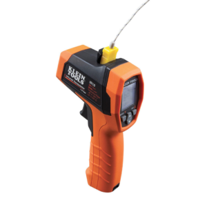Klein Tools IR10 20:1 Dual Laser Infrared Thermometer with Case