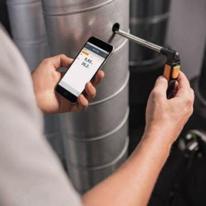 Testo 0560-1405 405I Hot-Wire Anemometer Smart And Wireless Probe