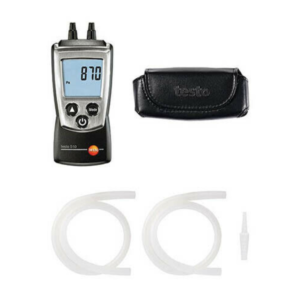 Testo 0563 0510 510Kit Differential Pressure Measurement Kit with Manometer and Hoses