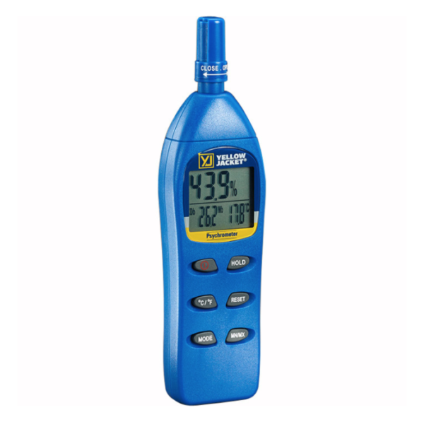 Yellow Jacket 69008 Digital Psychrometer/Thermo-hygrometer