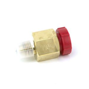 """Yellow Jacket 19130 1/4"""" Male to 3/8 Female STR  x 1/4"""" Male Flare Vacuum Pump Intake Adapter"""