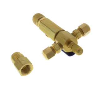 "Yellow Jacket 93850 1 Valve 1/2"" Female Flare Coupler, SuperEvac Manifold"
