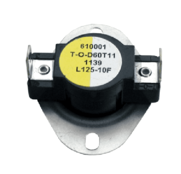 Supco L125-10 Heater Limit Thermostat Thermo-disc Open On Rise
