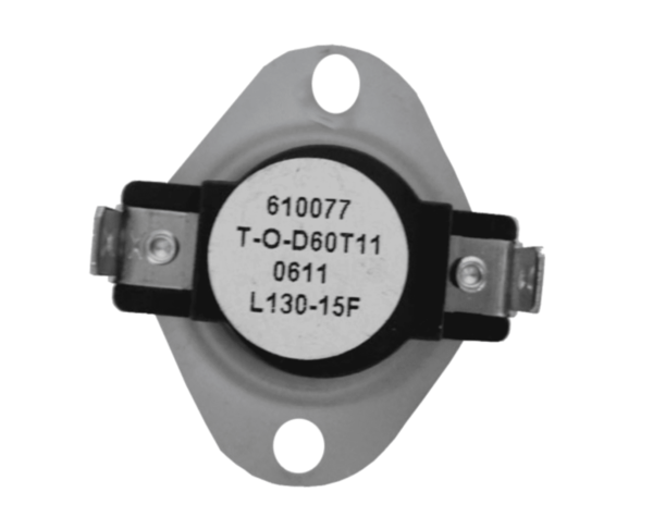 Supco L130-15 Heater Limit Thermostat Thermo-disc Open On Rise