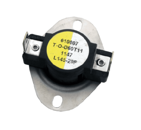 Supco L145-20 Heater Limit Thermostat Thermodisc Open On Rise