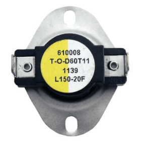 Supco L150-20 Heater Limit Thermostat Thermo-disc Open On Rise