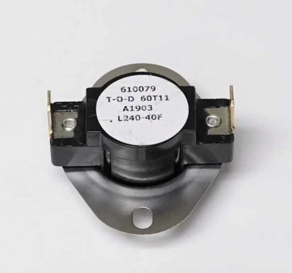 Supco L240-40 Heater Limit Thermostat Thermo-disc Open On Rise