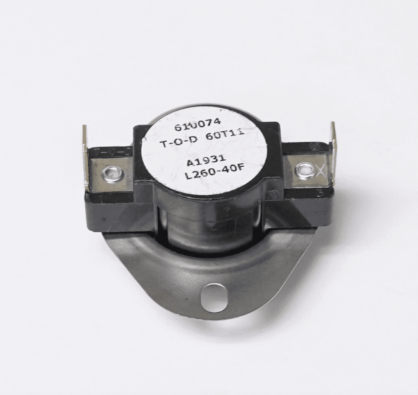 Supco L260-40 Heater Limit Thermostat Thermo-disc Open On Rise
