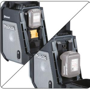 Makita® XRM09B 18V LXT/12V Max CXT Lithium‑ION Cordless Bluetooth Job Site Radio