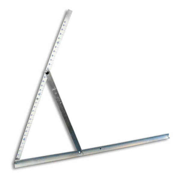 """Amcraft® Layout Square (No Add -owns) 1-1/2"""" Duct Board Tool"""