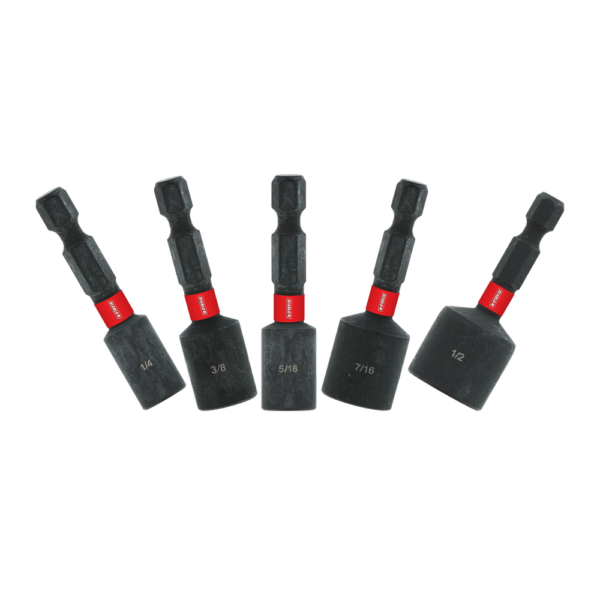 1-7/8 in. Magnetic Nut Setter Assorted Pack (5-Piece)