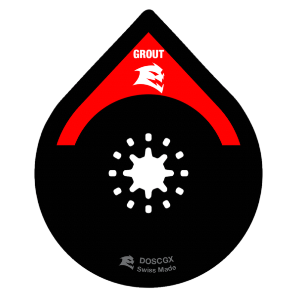 2-3/4 in. Starlock Carbide Grit Oscillating Blade for Grout and Mortar