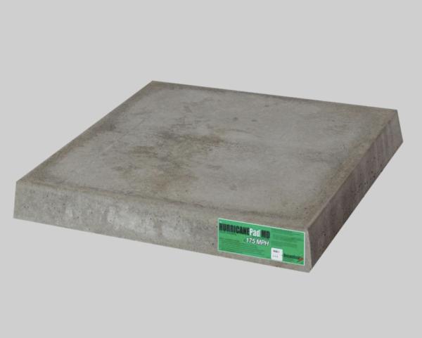 DiversiTech® Hurricane Pad Miami Dade Code Compliant 36X36X4 Solid Concrete